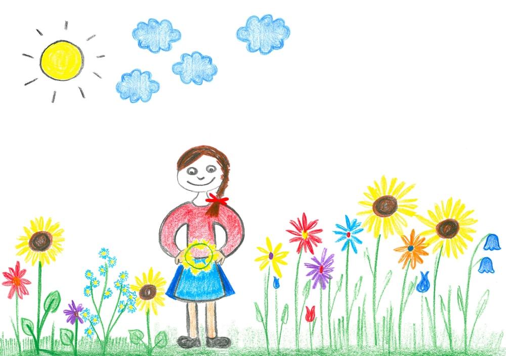 girls-drawing